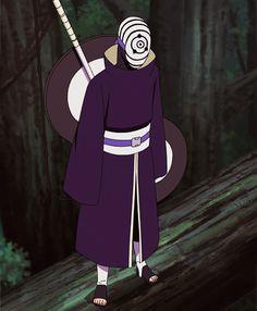 Tobi (Obito Uchiha). #naruto