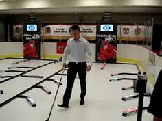 Jonathan Toews Does Kids Drill