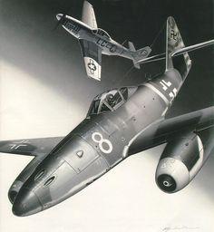Messerschmitt Me 262A-1a Walter Nowotny, by Masao Satake