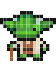 cute pixel starwars template - Google Search