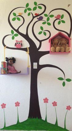#Baby #Babyroom #Nursery Mural infantil interactivo