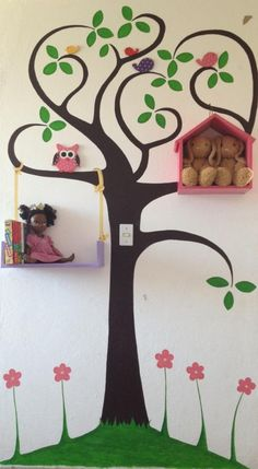 Mural infantil interactivo