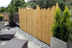 Brise vue en bambou                                                                                                                                                                                 Plus