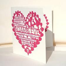 Personalised pink wedding invite