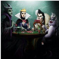 Evil queens...