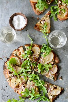 Pear, Blue Cheese & Hazelnut Pizza — Indemic - Product Development, Auckland, New Zealand