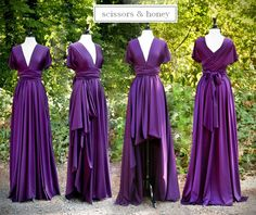 Another site for bridesmaid convertible dresses... buy 5-8, and they are only $75 each!