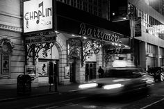 Chaplin on Broadway and the Taxi