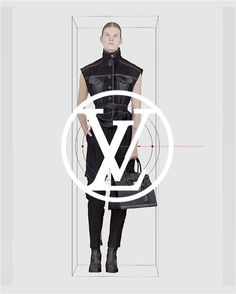 """SIX GIRLS of #LVFW17 by @nicolasghesquiere A modern sculpture of Atty (@attymitchell) for #LouisVuitton directed by Yoann Lemoine Music """"Carol No.1"""" by Woodkid  via LOUIS VUITTON OFFICIAL INSTAGRAM - Celebrity  Fashion  Haute Couture  Advertising  Culture  Beauty  Editorial Photography  Magazine Covers  Supermodels  Runway Models"""