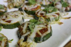 Zucchini Pizza Bites Recipe - Charleston Crafted