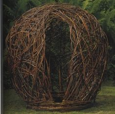 """Living Willow Structures – """"The Nest"""""""