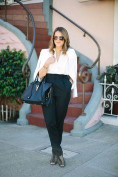 #blazer, #gal-meets-glam, #julia-engel, #purse, #handbag, #fashion, #pants  Styling & Photography: Gal Meets Glam - galmeetsglam.com/