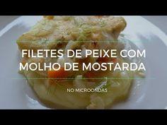 Petiscana: Filetes de peixe com molho de mostarda #glutenfree #dairyfree [No microondas - Receita em vídeo]