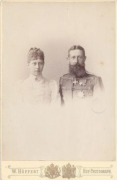 Victoria and prince Adolf Schaumburg-Lippe