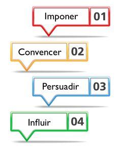 Muchos imponen, unos más convencen, otros pocos persuaden, muchos menos influyen...  Nuevo post en #DLC www.efrainmendicuti.com