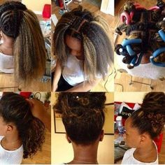 """msdaliah:  I'm trying to really figure out this Fabulous """"How To"""" it's called Vixen crochet braids. Seamless and looks so real. #howto #homegrownnaturalsofct #crochetbraids #protectivestyle #protectivestyling"""