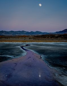 Salt Flats, Death Valley, Moon