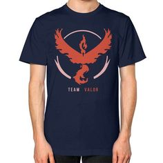 Team Valor Unisex T-Shirt (on man)