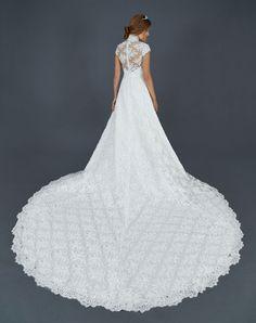 FYRED007 - Abito da Sposa Semi Ampio - Vestito da Sposa in Tulle | Atelier Eme