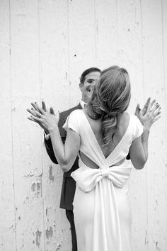 Wedding Dress Trend Alert Oversized Bows