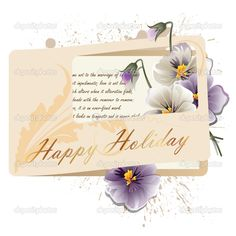 Wonderful greeting cards for happy holidays
