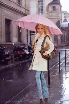 Rainy day Barbie