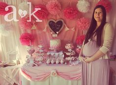 """Photo 7 of 16: Pink Princess / Baby Shower/Sip & See """"Nicole's Vintage Fairy Tale Pink Baby Shower"""" 