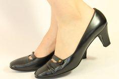 60s David Evins Shoes 6.5 / 1960s I Magnin Pumps by CrushVintage