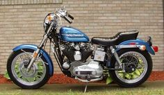 1976 Harley-Davidson XLCH Sportster .. Chopped one of these a bit.. was a fun ride