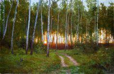 Por Amor al Arte: Notables pinturas de Dimitri Kolujni artista de Ucrania.