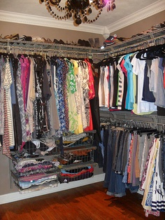 """Final decision for my walk-in closet floor plan!  """"I like my money right where I can see it... Hanging in my closet"""""""