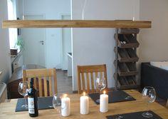 Hängeleuchte Holz Eiche geölt inkl. Leds Eichenlampe Deckenlampe Holzleuchte   eBay