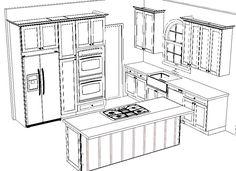 2019 House Ideas Super kitchen plan drawing architecture ideas Shedding Some Light On Lantern Hi Kitchen Plants, Home Decor Kitchen, Interior Design Kitchen, Kitchen Layout Plans, Kitchen Floor Plans, Kitchen Drawing, Plan Drawing, Drawing Ideas, Kitchen Remodel Cost