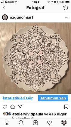 Ceramic Painting, Fabric Painting, Ancient Egypt Art, Turkish Design, Blue Pottery, Scroll Design, Art Background, Quilting Tutorials, Arabesque