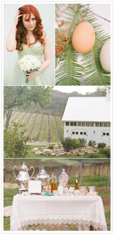 BEAUTIFUL. brunch wedding - gives me great ideas for a brunch party..