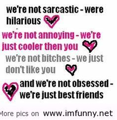funny best friend quotes - Google Search