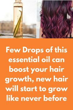 Few Drops of this essential oil can boost your hair growth, new hair will start to grow like never before Hair loss and hair thinning is a very common problem faced by almost every individual. There are so many reasons behind hair fall. Some most common problems are stress, regular usage of chemical products and imbalanced diet. Surgical therapy is available which helps in growing the hair as the hair transplants and other therapies. But …