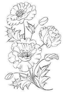 꽃그림 도안자료 밑그림 꽃이미지 스케치 Flower painting sketch