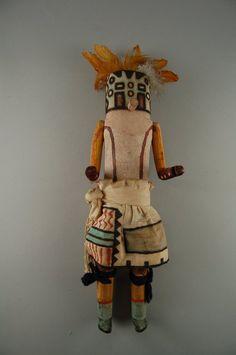 Brooklyn Museum: Arts of the Americas: Kachina Doll (Panek Pinto)