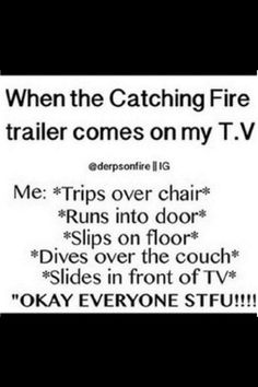 Basically. For any movie....... Fan girlish t it's finest