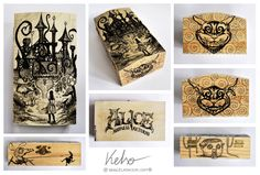 Alice Madness Returns woodenbox by ElaRaczyk.deviantart.com on @DeviantArt