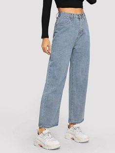 Ripped Jeggings, Ripped Skinny Jeans, Wide Leg Jeans, High Waist Jeans, Loose Jeans, Jeans Size, Boyfriend Jeans, Mom Jeans, Denim Jeans