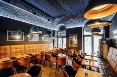 Ristretto cafe by Davidsign, Oradea – Romania Cafe Restaurant, Restaurant Design, Visual Merchandising, Design Furniture, Stores, Home Interior Design, Coffee Shop, Lounge, Retail Design