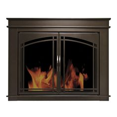 You'll love the Fenwick Cabinet Style Fireplace Screen & Arch Prairie Smoked Glass Door at Wayfair - Great Deals on all Home Improvement  products with Free Shipping on most stuff, even the big stuff.