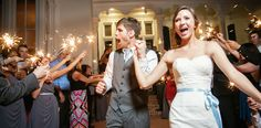 Sparklers Exit - Merrimon Wynne House - Ashley McCray Photography - NC Wedding Planner - Orangerie Events