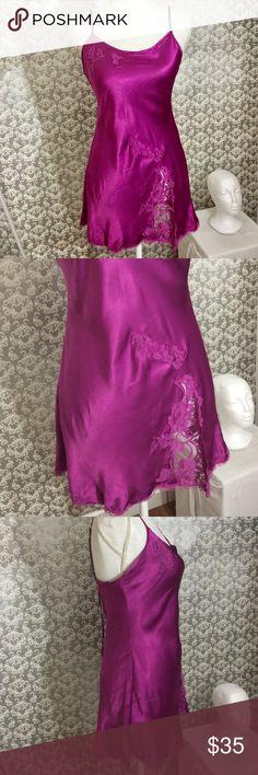 Victoria's Secret Violet satin lace lingerie Size S Victoria's Secret Intimates & Sleepwear