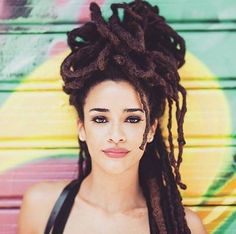 A resource for information on locks and a celebration of the many forms dreadlocks take and their universal beauty♥ Negativity free zone. I want to celebrate YOUR lovely locks! Dreadlock Styles, Dreadlock Hairstyles, Braided Hairstyles, Kid Hairstyles, Twists, Big Hair, Your Hair, Messy Hair, Curly Hair Styles
