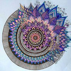 dessin-de-mandalas-a-imprimer-02 #mandala #coloriage #adulte via dessin2mandala.com