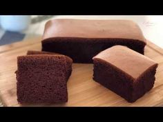 Chocolate Cotton Sponge Cake 巧克力棉花蛋糕 - YouTube