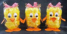 Diy Crafts Hacks, Diy Home Crafts, Easter Art, Easter Crafts For Kids, Chores For Kids, Activities For Kids, Baby Park, Plastic Bottle Art, Kids Workshop